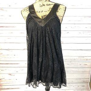 Black Lace Blouse